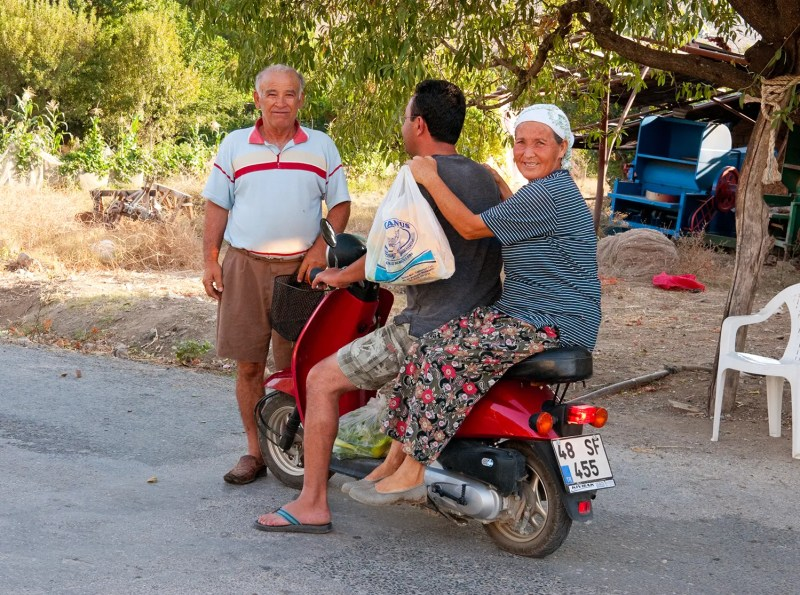 Super friendly folks near the town of Bozburun, Turkey
