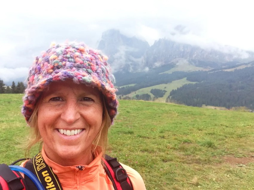 In the Alpe di Siusi, Dolomites, Italy