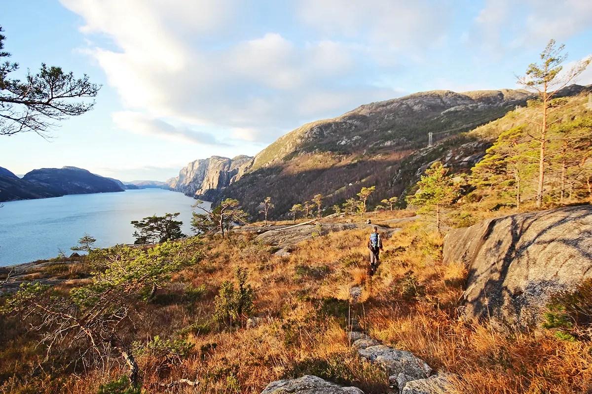 fjord hiking
