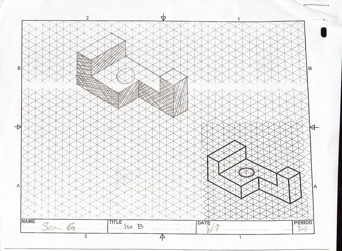 Isometric And Oblique Sketches
