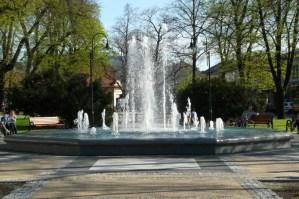 Fontanny w Andrychowie