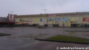 Parking przed Kauflandem - Andrychów
