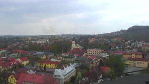 Andrychów - kamera internetowa z widokiem na miasto