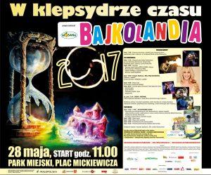 Program Bajkolandii Andrychów 2017 - plakat