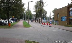 Remont przejazdu kolejowego w alei Wietrznego w Andrychowie