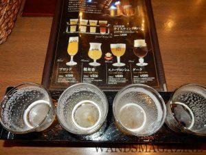 レストランで飲める4種テイスティングセット