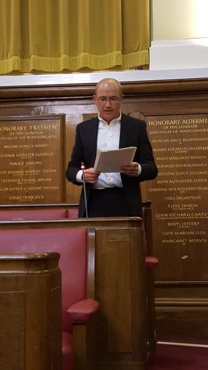 Paul White full council