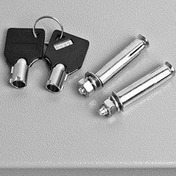 Elektronischer Tresor 35x40x40cm Türstärke 4mm mit Doppelbolzenverriegelung – 5
