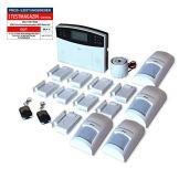 GSM Funk-Alarmanlage Set von Multi Kon Trade I Alarmanlage Komplettsystem M2B SET-4 I Funk Alarmanlage mit Bewegungsmelder, Tür- und Fensterkontakt, Fernbedienung, externe Sirene und App Steuerung - 1