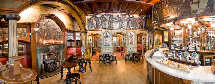 Blackfriars Pub Witchcraft And Wizardry
