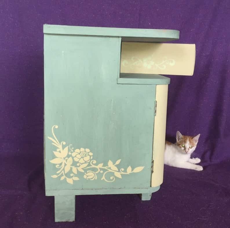niche chat fleuron