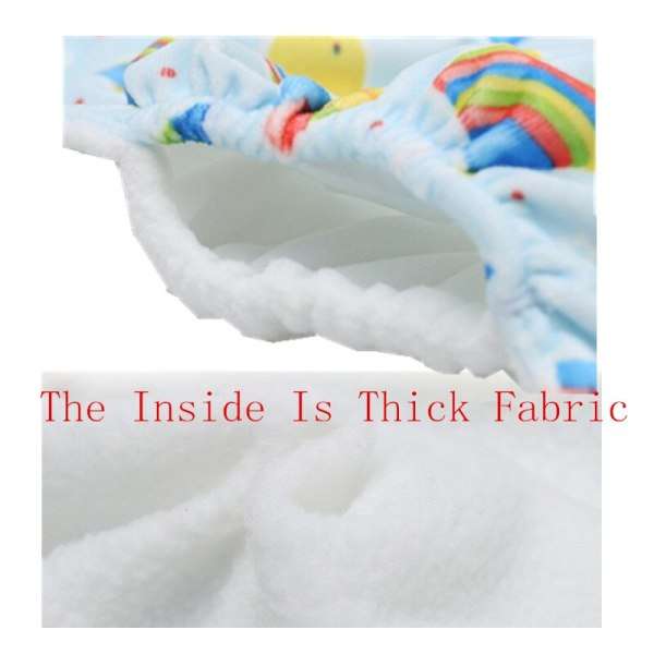 1PC Baby Cloth Diaper Reusable Nappy Baby Newborn Diapers Nappies Pocket Washable Diaper Cover One Size 4