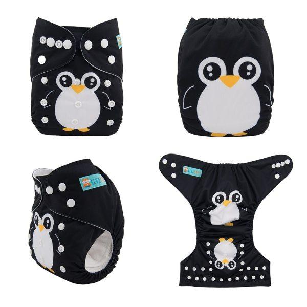 U Pick ALVA Baby 2019 Most Popular Digital Position Baby Cloth Diaper with Microfiber Insert YD 13