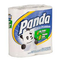 Panda Bath Tissue Bundle Double Roll 176sh - 4rolls/6pk