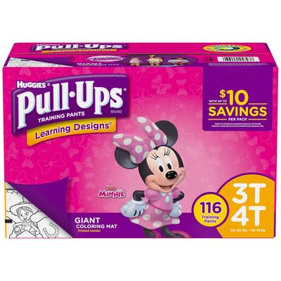 Huggies Pull - Ups For Boys 3T/4T - 116ct/1pk