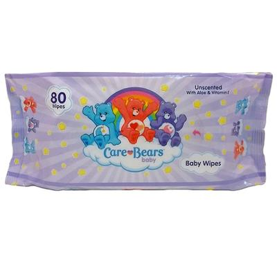 CareBears Baby Wipes Unscented - 80ct/24pk