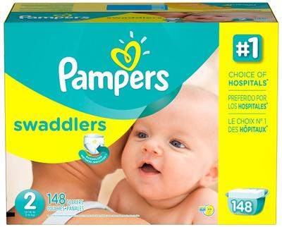 Pampers Swaddlers Econ Size 2 - 148ct/1pk