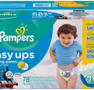 Pampers BOYS EASY UPS 4T-5T size 6 - 78ct/1pk