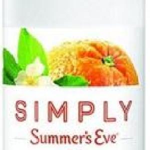 Summer's Eve Foaming Wash Mandarin Blossom 5oz/12pk