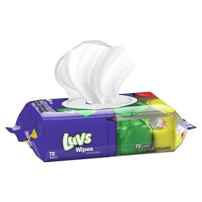 Luvs Ultra Clean Baby Wipes - 72ct/8pk