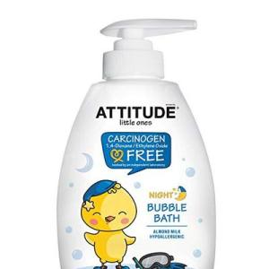 Attitude Little Ones Bubble Bath Night Almond Milk - 10oz/6pk
