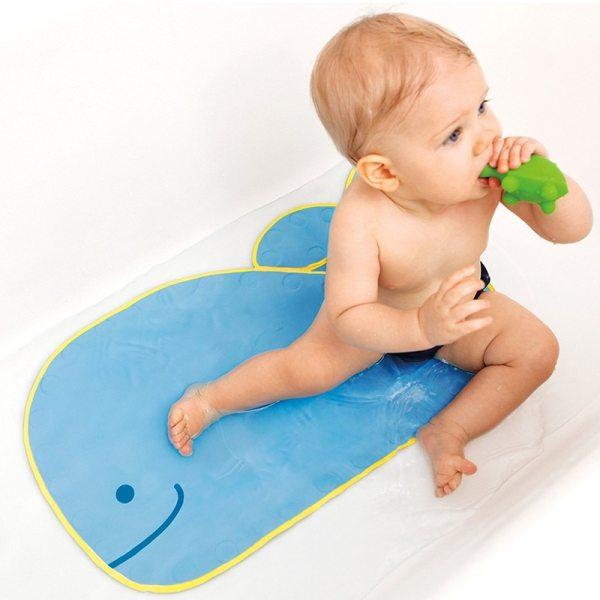 Baby Cartoon PVC Play Mat with Suction Cups Toilet Floor Rug Bathtub Carpet 40 70cm 2