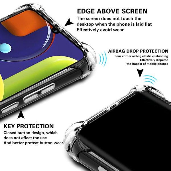 Clear Soft TPU Case For Samsung Galaxy A50 A30 A20 A10 A70 A40 A60 A80 A90 2