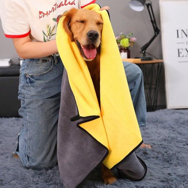 JORMEL Dog Bathrobe Extra Large Pet Dog Bath Towel for Small Medium Large Dogs 400g Microfiber