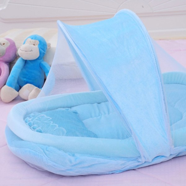 New Wel selling Baby Bed Portable Folding Mosquito Mesh Net Crib Child 1