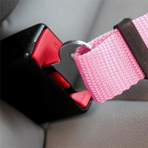Pet Dog Adjustable Safety Seat Belt Nylon Pets Puppy Seat Lead Leash Dog Harness Vehicle Seatbelt 2