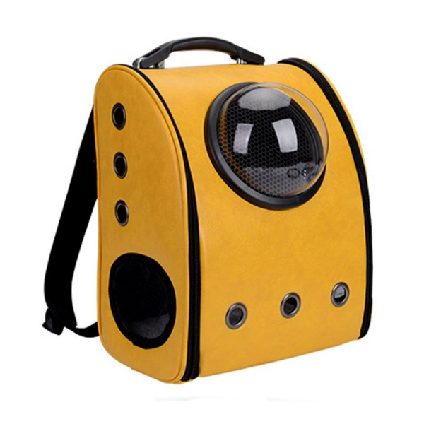 The capsule bag carrying pet cat breathable outdoor portable packaging bag dasyure pets puppy travel backpack 3