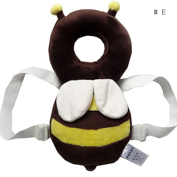 Brand New Cute Baby Infant Toddler Newborn Head Back Protector Safety Pad Harness Headgear Cartoon Baby 5