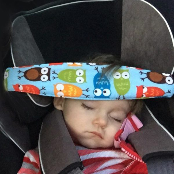 Infant Baby Car Seat Head Support Belt Children Adjustable Playpens Fastening Belt Sleep Positioner Baby Saftey