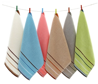 Pure cotton plain scarf Wash your face and wipe your hands Environmentally friendly dyeing OEM towel