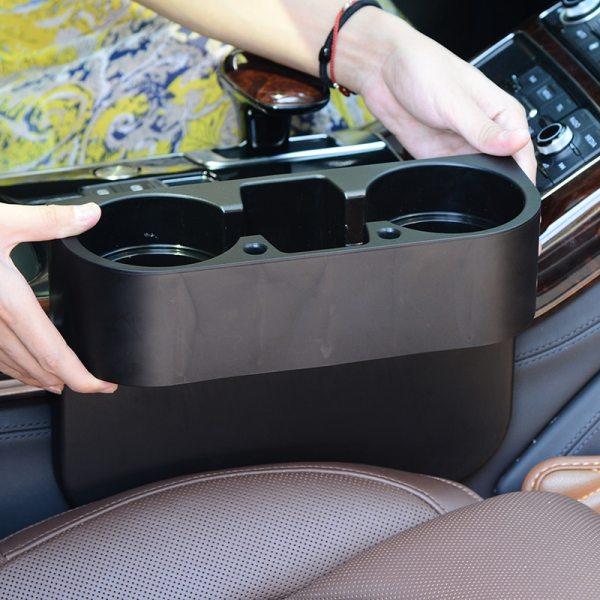 Car Storage Holder Organizer Portable Multifunction Auto Vehicle Interior Seat Cup Phone Drink Holder Storage