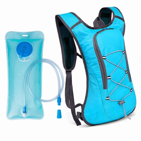 Outdoor Water Bag Hydration Backpack Women Men Camping Hiking Riding Running Bag Water Bladder Container 2L