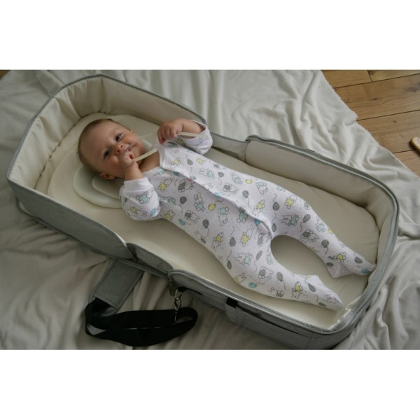 diaper bag and baby portable changing table 7