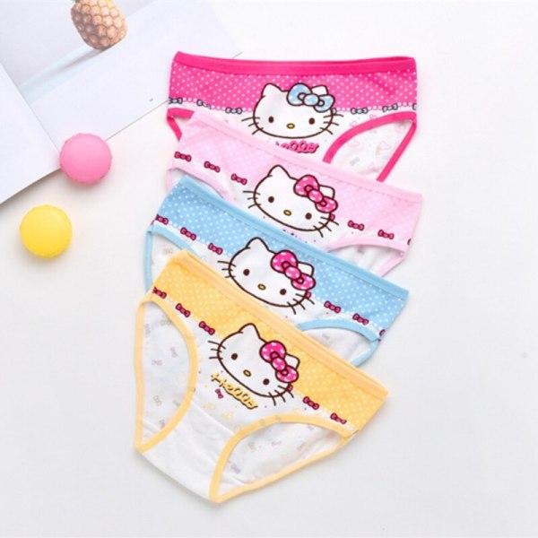 4Pcs pack girls briefs panties underwear Character Girls Underwear Cotton 4colors Panties 1