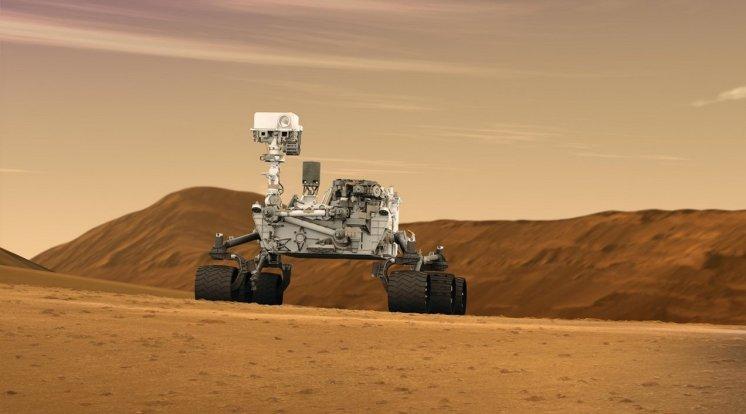 Curiosity trouve de l'eau sur mars