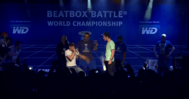 Beat box boom battle world championship