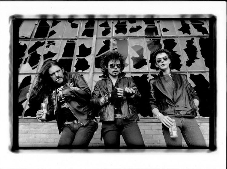 Motorhead - 1983- © Philippe Hamon