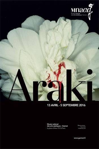 Nobuyoshi Araki au musée Guimet à Paris