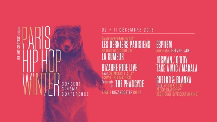 Paris Hip Hop winter