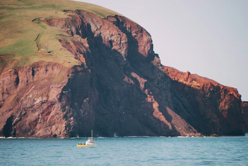 A Visit to the Beautiful Magdalen Islands, Quebec