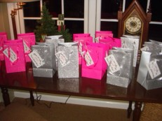 "The bags for ""Emma's Favorite Things"""