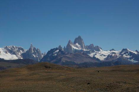 View of Cerro Fitz Roy