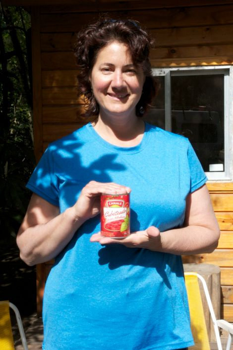 I finally found the canned tomatoes that Susanne kept asking about