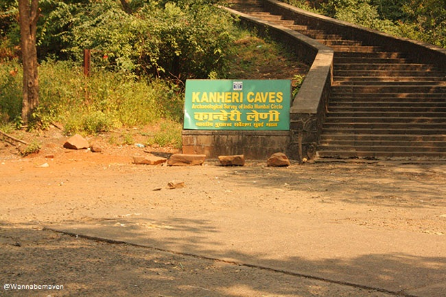 Kanehri caves entrance - Sanjay Gandhi National park