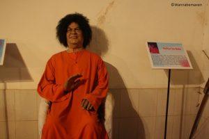 Sathya Sai baba - celebrity wax museum