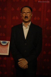 Hitler - celebrity wax museum